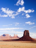 Buttes in Monument Valley