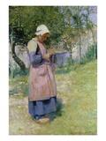 A Little Breton Maid