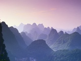 Mountains in Guangxi Province  China