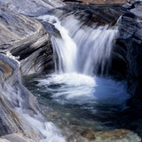 Little Waterfall  Tessin  Switzerland