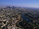 Downtown Los Angeles and MacArthur Park