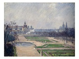 The Tuilleries Basin and the Louvre