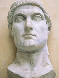 Late Antique Roman Colossal Head of Constantine