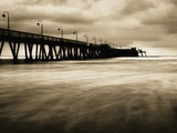 Pier on Imperial Beach  California  USA