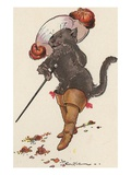 Illustration of Puss in Boots by Eulalie