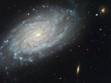 The spiral galaxy NGC 3370