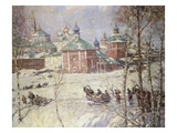 The Kremlin  Moscow  Russia  in Winter