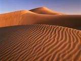 Dunes in the desert (Hatta  United Arab Emirates)
