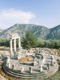 Tholos of the Athena Pronaia in Delphi  Greece