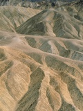 Zabriskie Point in the Death Valley National Park  California (USA)