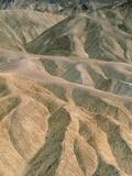 Zabriskie Point in the Death Valley National Park  California (USA)