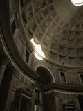 Inside the Pantheon  Rome  Italy