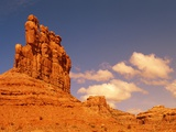 Sandstone formations  Valley of the Gods  Arizona  USA