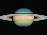 Infrared View of Saturn