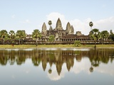 View of Angkor Wat City  Angkor  Cambodia