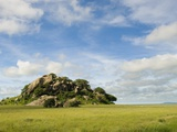 Rock Formations in Serengeti National Park