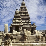 Shore Temple at Mamallapuram in India