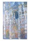 Rouen Cathedral  Blue Harmony  Morning Sunlight