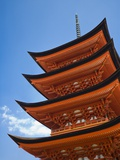 Pagoda at Itsukushima Jinja Shrine