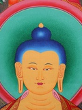 Tibetan Buddha Tanka