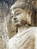 Colossal Buddha Sculpture at Fengxian Temple of Longmen Grottoes