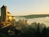 View of Saint-Cirq Lapopie