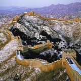 The Great Wall at Jinshanling in Winter