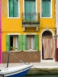 Colorful House on Burano Island