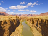 Marble Canyon and Colorado River