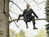 1960s Man In Tree Sawing Off The Branch He Is Sitting On