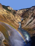 Rainbow over Lower Yellowstone Falls