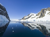 Coastal Mountains Bordering Gerlache Strait