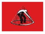 Man Trapped in Net