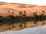 Mafo Lake in the Libyan Desert