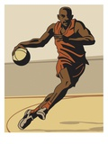 an image of a basketball player dribbling a basketball