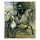 Horsewoman in the Bois de Boulogne