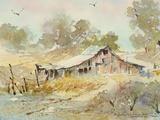 Dogtown Road Barn Giclée par LaVere Hutchings