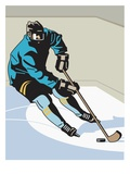 an image of a hockey player on the ice rink