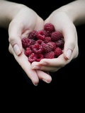 Handful of Raspberries