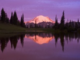 Mount Rainier and Tipsoo Lake