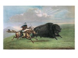 Print after Buffalo Hunt