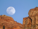 Moonrise at Zion National Park