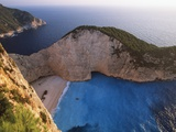 Shipwreck Bay on Zakynthos