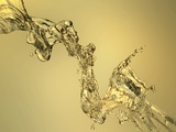 Abstract Shape Formed by Splashing Water