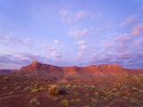 Sandstone Buttes at Dawn