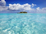 South Male Atoll in the Maldives Papier Photo par Frank Krahmer