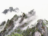 Mist Over Sanqing Mountain in China