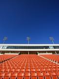 Empty Football Stadium Seats