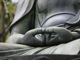 Detail of Buddha Statue at Senso-ji  Tokyo