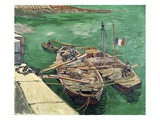 Landing Stage with Boats